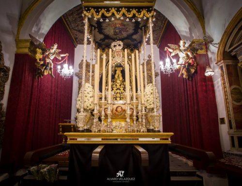 La Imagen de Nuestra Señora de los Dolores estrenó las andas de la Coronación Canónica