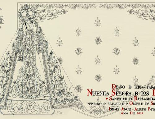 Donación de un terno bordado para la Imagen de Nuestra Señora de los Dolores
