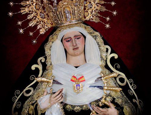 La Imagen de Nuestra Señora de los Dolores será restaurada por Esperanza Fernández