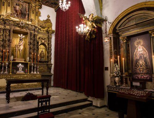 La Imagen de Nuestra Señora de los Dolores se ha retirado del culto para su restauración
