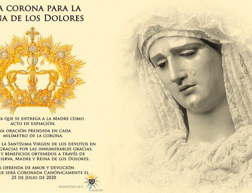 Patentes para la Corona de Nuestra Señora de los Dolores
