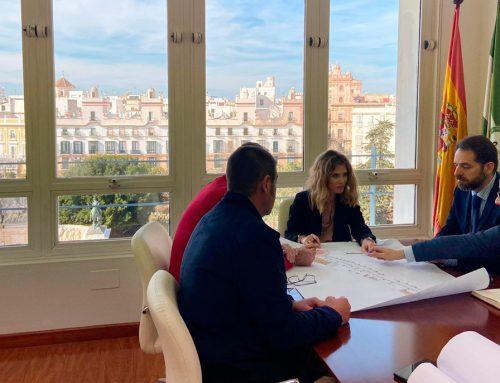 Reunión con la Sra. Delegada del Gobierno de la Junta de Andalucía